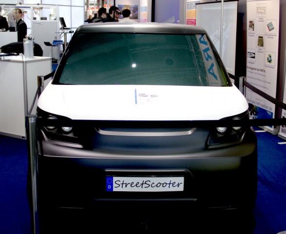 Das Elektroauto Streetscooter auf der Hannover Messe 2011 (Foto: Werner Pluta/Golem.de)