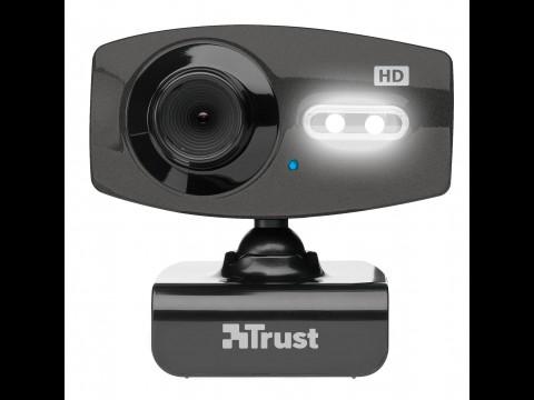 Trust Full HD Webcam - liefert Videos mit bis zu 2.048 x 1.536 Pixeln (Bild: Trust)