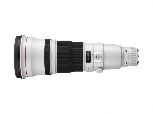 Canon-Prototyp EF 600mm 1:4L IS II USM (Bild: Canon)