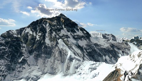 3D Realitymaps Online -  Everest 3D (Bild: Realitymaps)