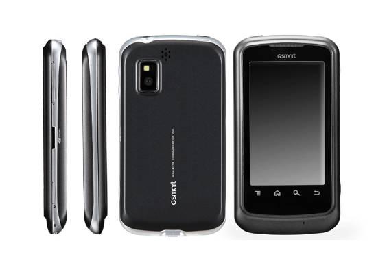 Dual-SIM-Smartphone: Gigabyte zeigt Gsmart G1317D mit Android 2.2 - Gigabyte Gsmart G1317D
