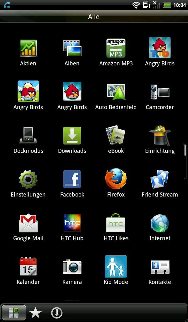 HTC Flyer im Test: Gelungenes Android-Tablet mit eigener Handschrift - Wer viele Anwendungen hat, ...