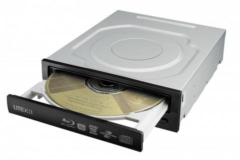 Lite-On iHES212 - internes SATA-Kombi-Laufwerk liest Blu-rays und ist ein CD- und DVD-Brenner. (Bild: Lite-On)