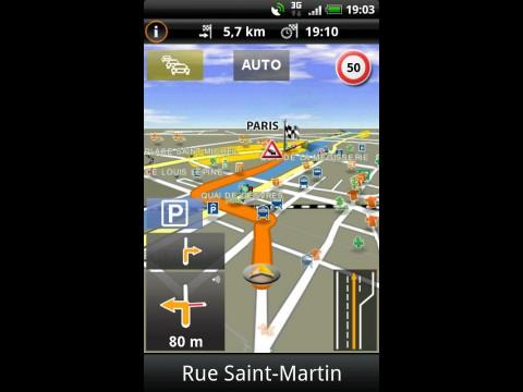 Navigon Mobile Navigator 3.6 für Android
