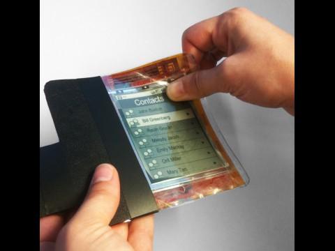 Paperphone-Prototyp