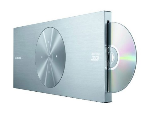 samsung bd d7509 flacher blu ray player f r 2d und 3d filme. Black Bedroom Furniture Sets. Home Design Ideas