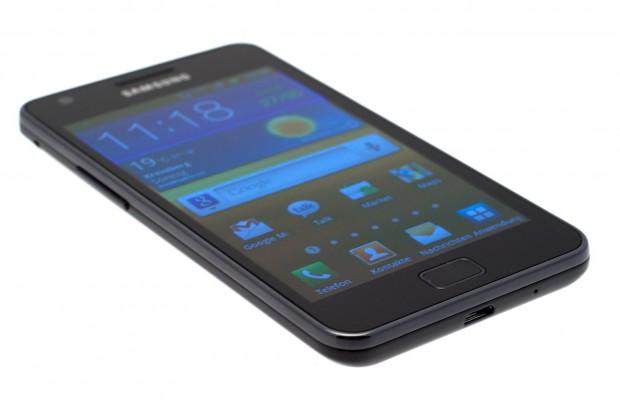 Das Display des Galaxy S2 ist das bislang größte in einem Smartphone verbaute.