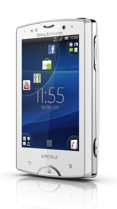 Sony Ericsson Xperia Mini und Pro: Gingerbread-Smartphones im Kreditkartenformat - Sony Ericsson Xperia Mini Pro