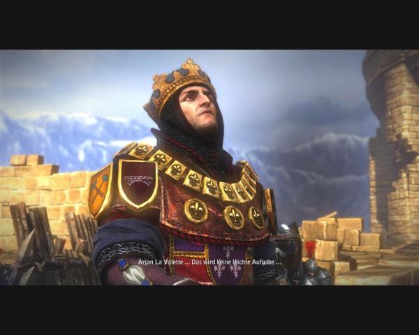 Viele der Figuren sind derart liebevoll eingekleidet wie der Herr König.