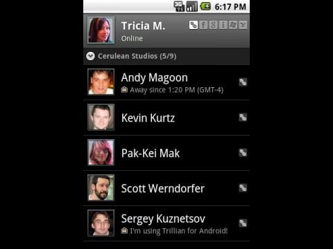 Trillian für Android