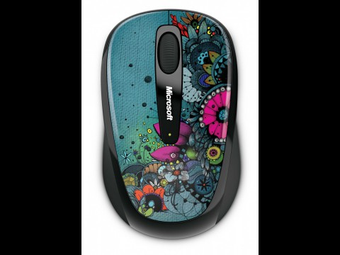 Microsoft Wireless Mobile Mouse 3500 in der Artist-Edition (Foto: Microsoft)
