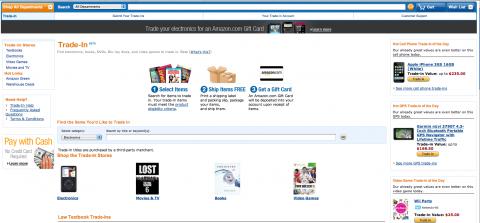 Amazon.com-Tradein-Programm (Bild: Amazon/Golem.de)