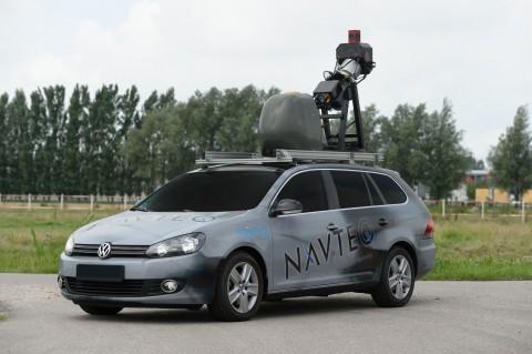 Bing Maps Streetside - Microsoft muss noch auf Navteqs Kamerawagen warten (Bild: Navteq)