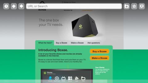 Boxee Box Firmware 1.1 - mit verbessertem Browser (Bild: Boxee)