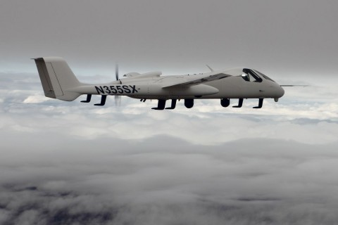 Das Firebird von Northrop Grumman kann auch von einem Piloten geflogen werden. (Foto: Northrop Grumman)