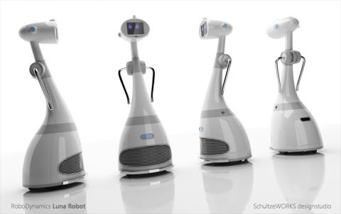 Luna, der persönliche Roboter von Robodynamics (Bild: Schultzeworks)