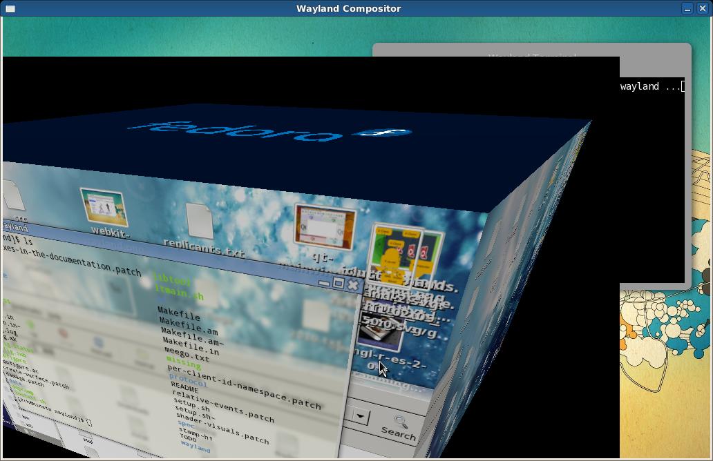 Displayserver: Wayland statt X.org - Wayland mit Compiz