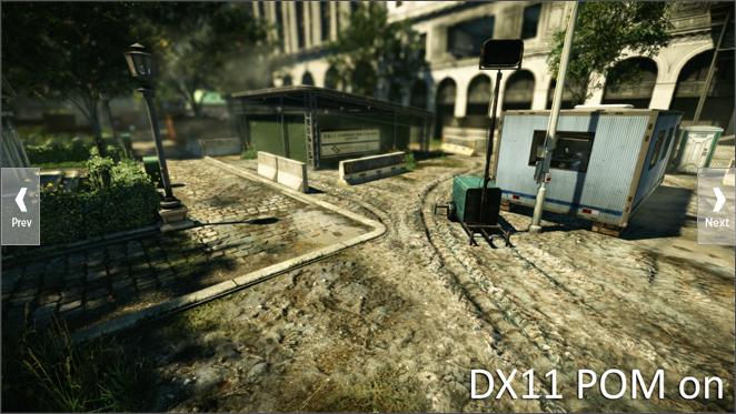 Crysis 2: Leak gewährt erste Blicke auf DirectX-11-Version - Crysis 2 mit Parallax Occlusion Mapping