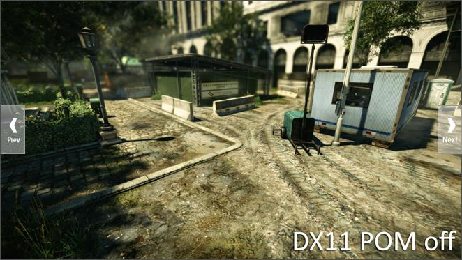 Crysis 2: Leak gewährt erste Blicke auf DirectX-11-Version - Crysis 2 ohne Parallax Occlusion Mapping