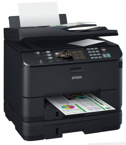 Epson Workforce Pro WP 4545 DTWF (Bild: Epson)