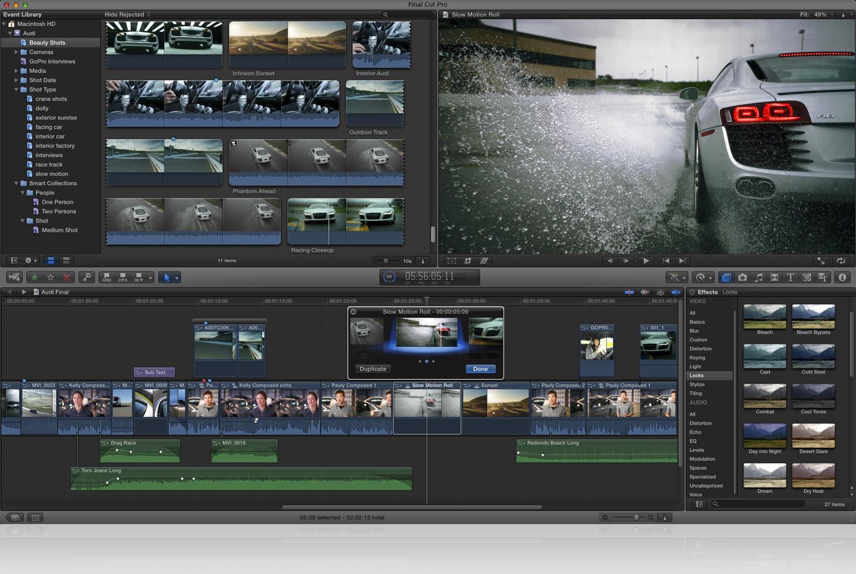 Videobearbeitung Apple Ver 246 Ffentlicht Final Cut Pro X