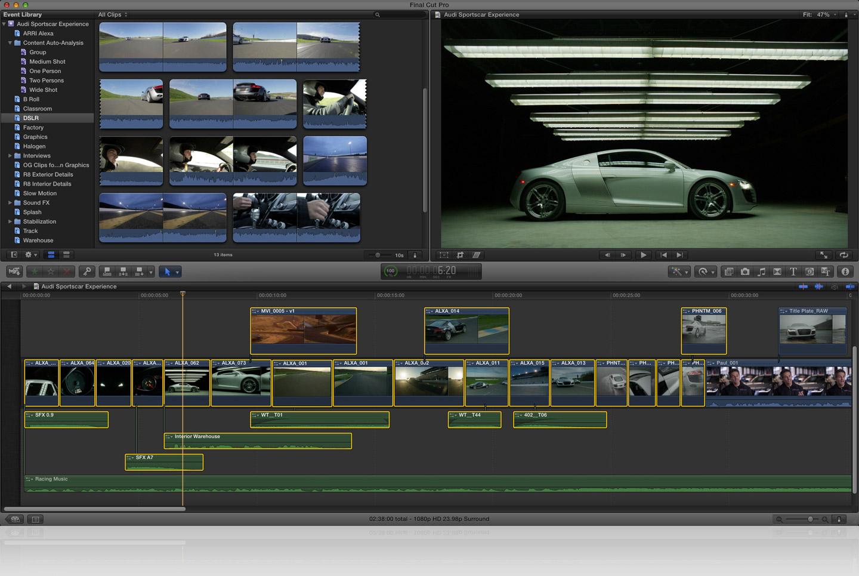 ... : Apple veröffentlicht Final Cut Pro X - Final Cut Pro X