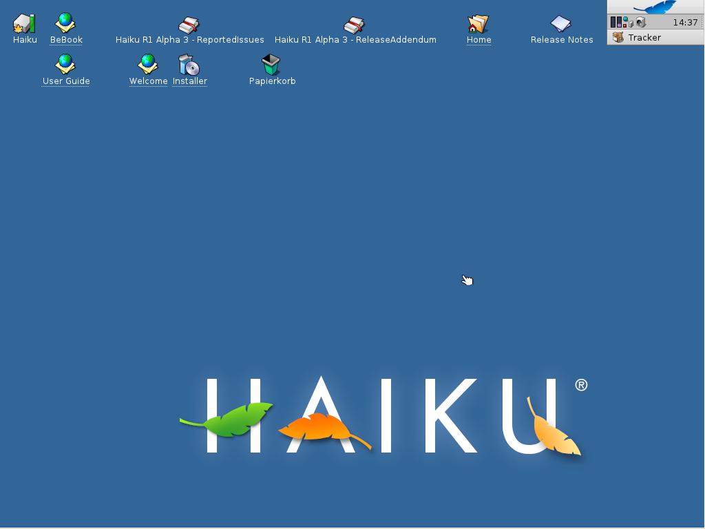 BeOS-Nachbau: Haiku R1 Alpha 3 mit vielen Verbesserungen - Haiku R1 Alpha 3
