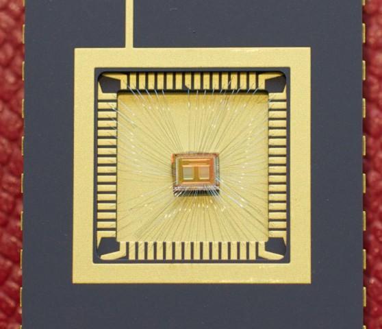 Prototyp des Phase-Change-Memory mit 2 Bit pro Zelle (Bild: IBM)