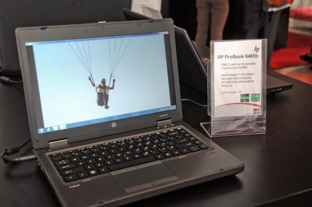 HPs Probook 6465b hat ein mattes Display, ...