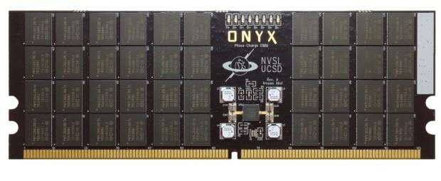 Das Phase-Change-DIMM Onyx (Bild: UCSD)