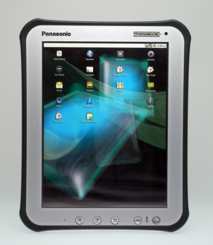 Prototyp von Panasonics Toughbook Tablet