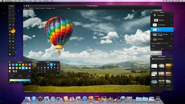 Pixelmator 2 - Benutzeroberfläche (Bild: Pixelmator)
