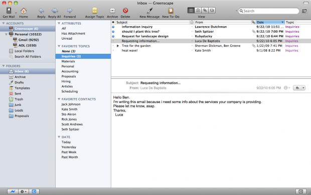 Postbox 2.5 (Screenshots: Postbox)