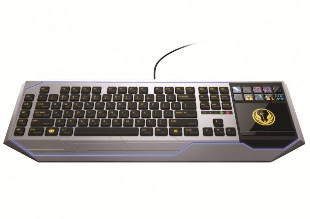Star Wars: The Old Republic - Tastatur mit Touchscreen von Razer
