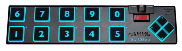 Multitouch-Tastatur: PC mit den Füßen bedienen - Softstep Keyworx (Bild: Keith McMillen)