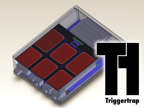 Triggertrap - Konzeptzeichnung (Bild: Ziah Fogel/ Haje Jan Kamps)