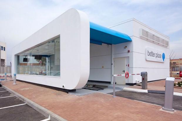 In Dänemark hat Better Place die erste Akkuwechselstation eröffnet. (Foto: Better Place)