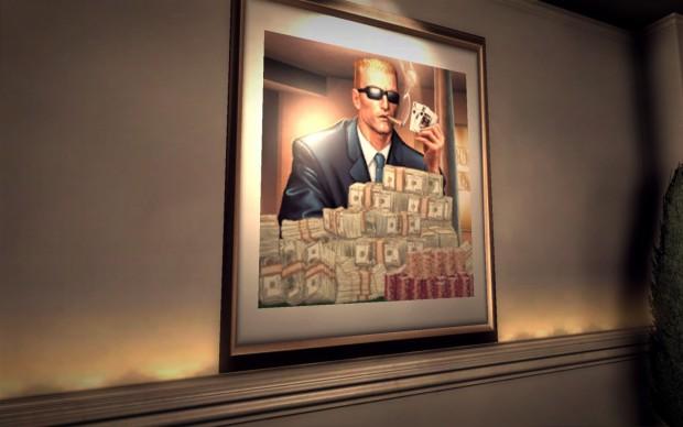 Reich und berühmt in Duke Nukem Forever - PC-Version (Bild: Golem.de)