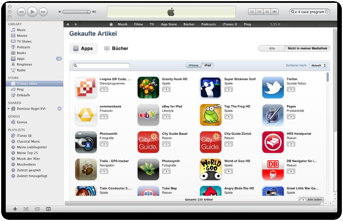 Ausprobiert: Cloud-Synchronisation mit iTunes 10.3 -