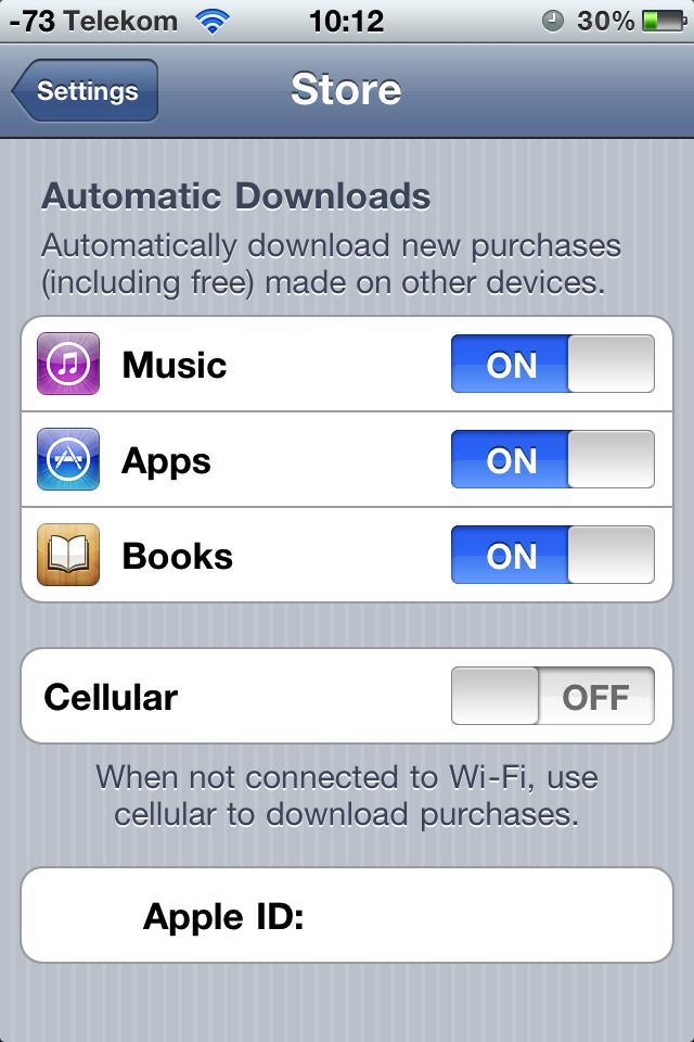Ausprobiert: Cloud-Synchronisation mit iTunes 10.3 - US-Konto mit automatischen Musikdownloads