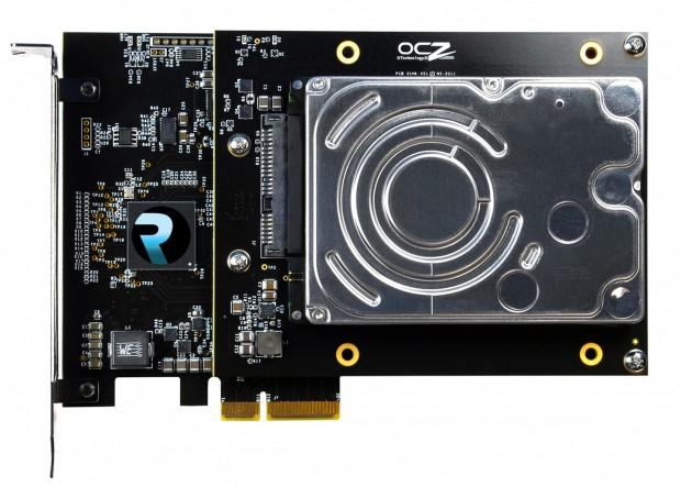 OCZ Revo Hybrid - PCIe-Steckkarte mit SSD und Festplatte (Bild: OCZ Technology)