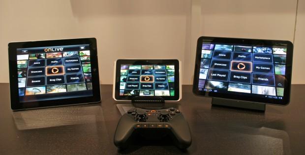 Onlive Player App - PC-Spiele  aus der Cloud aufs Tablet (Bild: Onlive)