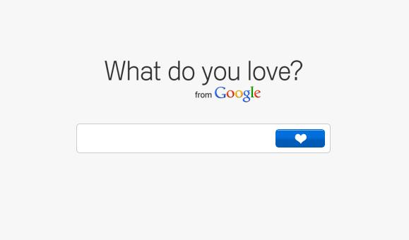 What do you love? von Google