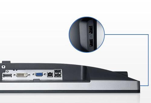 Dell U2412M: Günstiger 24-Zoll-Monitor im 16:10-Format mit IPS-Panel - Ultrasharp U2412M (Bild: Dell)