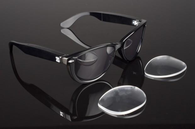 Zioneyez Eyez-Brille - die Brillengläser können ausgetauscht werden. (Bild: Zioneyez)