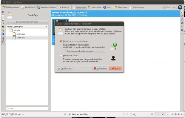 Zeitgleich zu KDE 4.7 erscheint Digikam 2.0. Eine neue Gesichtserkennung...