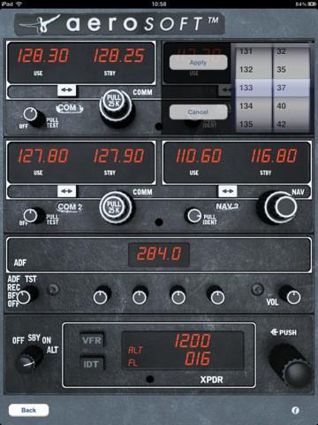 Radio Stack X von Aerosoft