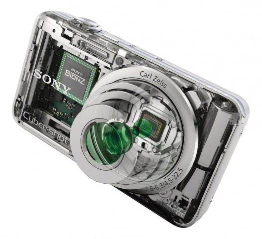 Sony Cybershot DSC-WX30 aufgeschnitten (Bild: Sony)