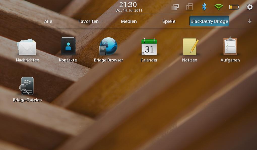 Blackberry Playbook im Test: Kompaktes Tablet mit intuitiven Gesten -