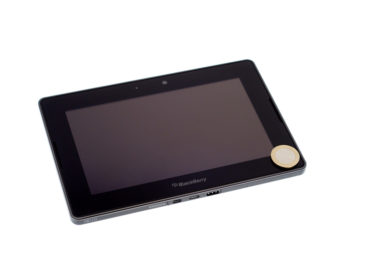 Blackberry Playbook im Test: Kompaktes Tablet mit intuitiven Gesten - Research in Motions 7-Zoll-Tablet Blackberry Playbook (Bild: Andreas Sebayang)
